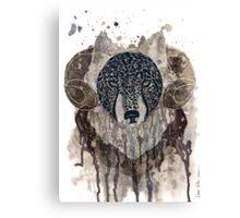 Wolf - ram Canvas Print