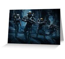 Halo 5 Guardians Greeting Card