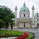 Karlskirche - Wien by Arie Koene