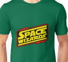 LASER SWORD SPACE WIZARDS Unisex T-Shirt
