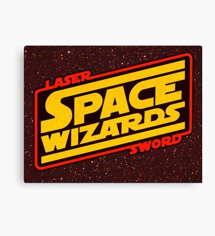 LASER SWORD SPACE WIZARDS Canvas Print