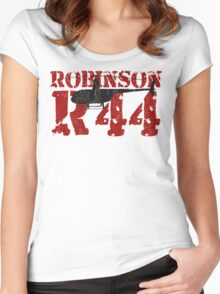 R44 Women's Fitted Scoop T-Shirt