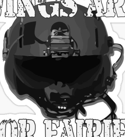 Wings Are For Faries Sticker