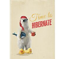 Time to Hibernate Photographic Print