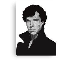 Vector Sherlock Canvas Print