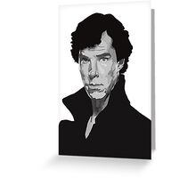 Vector Sherlock Greeting Card