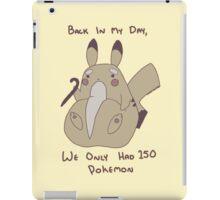 Grampy Pikachu iPad Case/Skin
