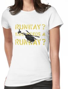 Who Needs a Runway? Womens Fitted T-Shirt