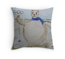 Sochi 2014 Throw Pillow