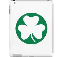 Shamrock St. Patricks day iPad Case/Skin