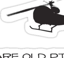 Bold Pilots Sticker