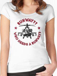 Runway 3 Women's Fitted Scoop T-Shirt