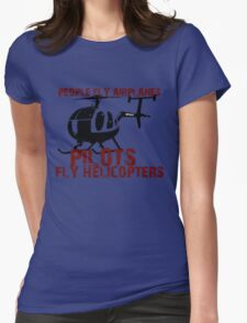 Pilots Womens Fitted T-Shirt