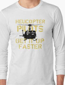 Up Faster Long Sleeve T-Shirt