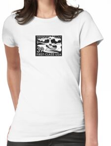 R44 Stamp Womens Fitted T-Shirt