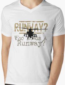 Runway 6 Mens V-Neck T-Shirt