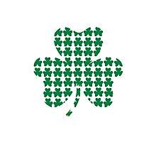 St. Patricks day shamrock Photographic Print