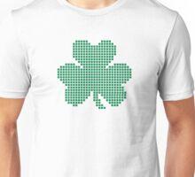 Pixel shamrock Unisex T-Shirt
