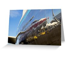747 Reflection Greeting Card