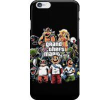 Grand Theft Mario iPhone Case/Skin