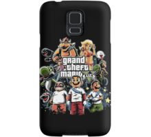 Grand Theft Mario Samsung Galaxy Case/Skin