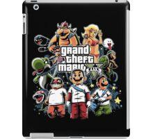 Grand Theft Mario iPad Case/Skin