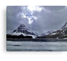 Glaciers  Metal Print