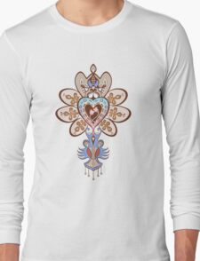 Flowering Heart Long Sleeve T-Shirt