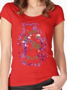 Abra, Kadabra, Alakazam Splatter Women's Fitted Scoop T-Shirt