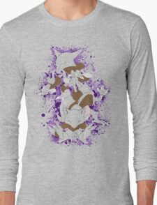 Abra, Kadabra, Alakazam Splatter Long Sleeve T-Shirt