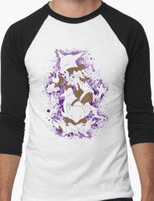 Abra, Kadabra, Alakazam Splatter Men's Baseball ¾ T-Shirt