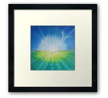 Angel of the Morning Framed Print
