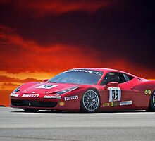 Ferrari F458 No 59 by DaveKoontz