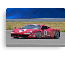 Ferrari F458 No 78 Canvas Print