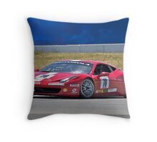 Ferrari F458 No 78 Throw Pillow
