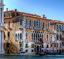 Palazzos on the Grand Canal by Tom Gomez
