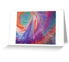 Angel Feathers Greeting Card