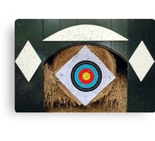 Archery statistics Canvas Print