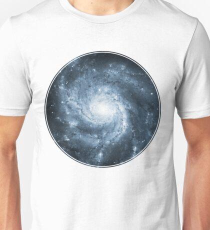 Whirlpool Galaxy [Dark Blue] | Fresh Universe Unisex T-Shirt