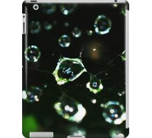 Web Droplets iPad Case/Skin