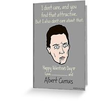 Franz Kafka Greeting Card
