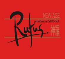 Rufus President of Shinra Campaign Logo - Final Fantasy VII One Piece - Long Sleeve