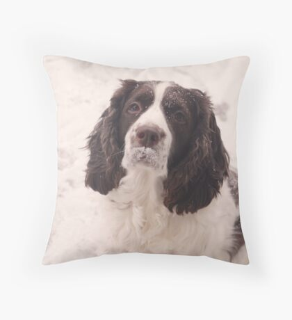 Doggie Chaplin Throw Pillow
