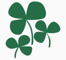 Three irish shamrocks Kids Tee