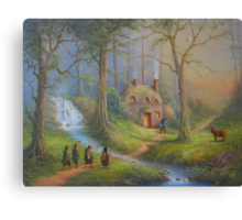 The House Of Tom Bombadil Canvas Print