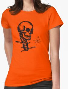 The Subtle Destroyer Womens Fitted T-Shirt
