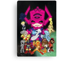 Lil Galactus and his Heralds Canvas Print