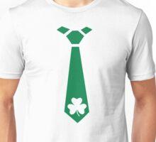 Shamrock tie St. Patrick's day Unisex T-Shirt