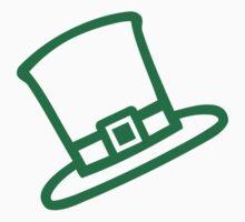 Irish Leprechaun top hat Kids Tee