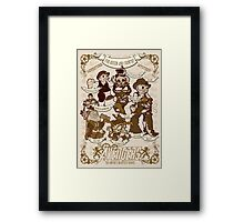 Lil steampunk Avengers Framed Print
